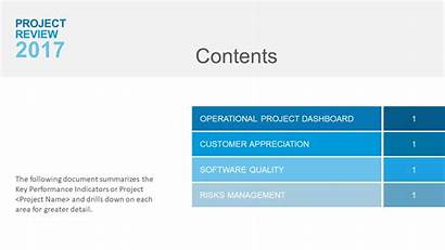 Powerpoint Presentation Contents Project Example Software Templates
