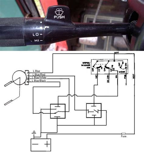 gm column wiper motor relay ihmud forum