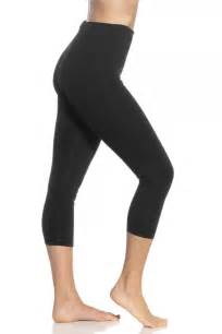 Women Wearing Capris Leggings