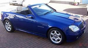 Mercedes Benz Slk 230 Kompressor 1998 : 2001 mercedes slk 230 kompressor automatic blue metallic ~ Jslefanu.com Haus und Dekorationen