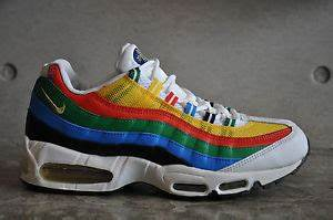 Nike Air Max 95 Olympic 2004 Wht Met Gold Chle Rd