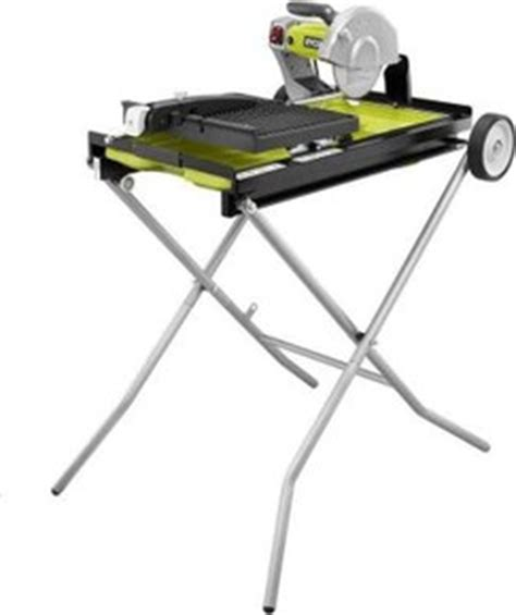ryobi tile saw ryobi 7 in portable tile saw with laser ws750l review