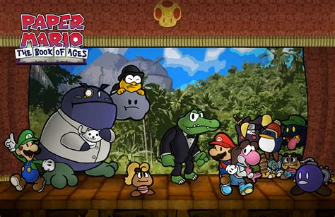 paper mario fan game paper mario boa chapter 5 by chetrippo on deviantart