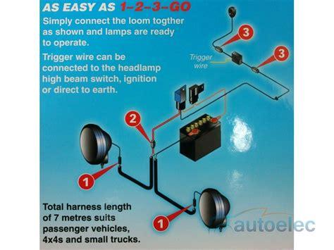 lightforce led   watt led  driving combo light lamp kit narva wiring