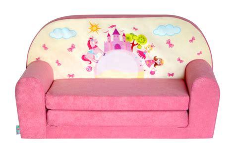 canapé pour enfants mini canapé lit enfant château rosefauteuils poufs matelas