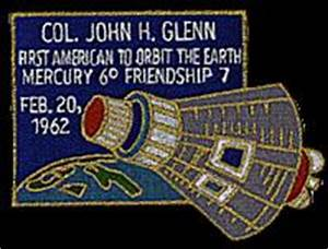 Astronaut John Glenn Commemorative Patch 2