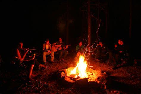 soir 233 e feu de c en cing ou en chalet plein air lanaudia