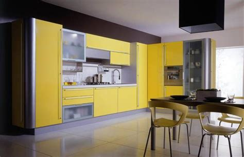 yellow kitchen color schemes trends in yellow kitchen colors 1690