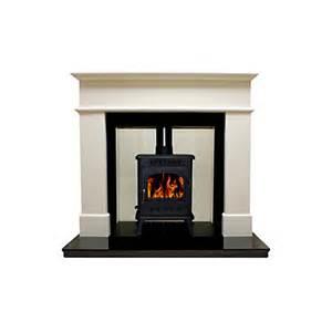 B And Q Fireplace by Warwick White Micro Marble Fire Surround Set Departments