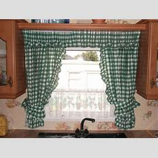 Kitchen Curtain Designs Style  Ideal Kitchen Curtain