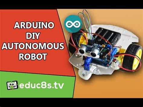 arduino robot project  diy obstacle avoiding robot