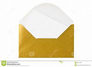 gold envelope with blank letter royalty free stock photos With gold letter envelopes
