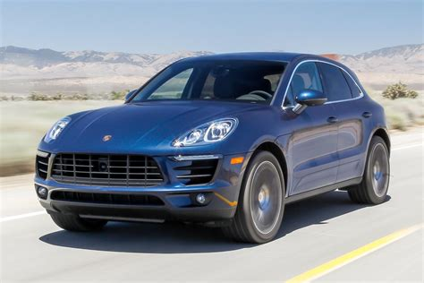navy blue porsche 2017 2016 porsche macan s receive an update to become faster