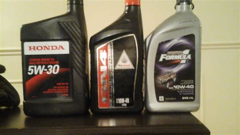 rincon  stock engin oil honda atv forum
