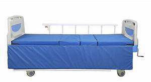 Cheap Price Multifunctional Foldable Manual Hospital Bed