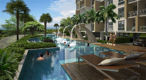 two kitchen islands water park modern 1 bedroom condo with balcony at top