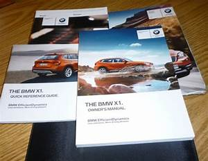 2013 Bmw X1 Owners Manual Set 13 X 1 Guide W  Case New