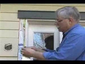 Exterior door insulation youtube for Exterior window insulation