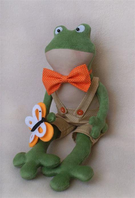 diy kit rag doll frog tilda style doll making supplies