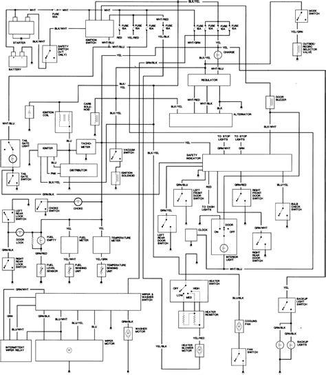 Honda Civic Wagon Wiring Diagram by Repair Guides Wiring Diagrams Wiring Diagrams