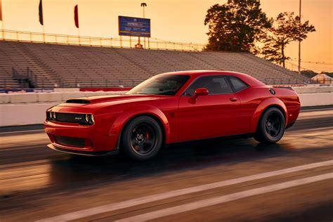 2018 Dodge Challenger Srt Demon Reportedly Offers 1,023 Hp