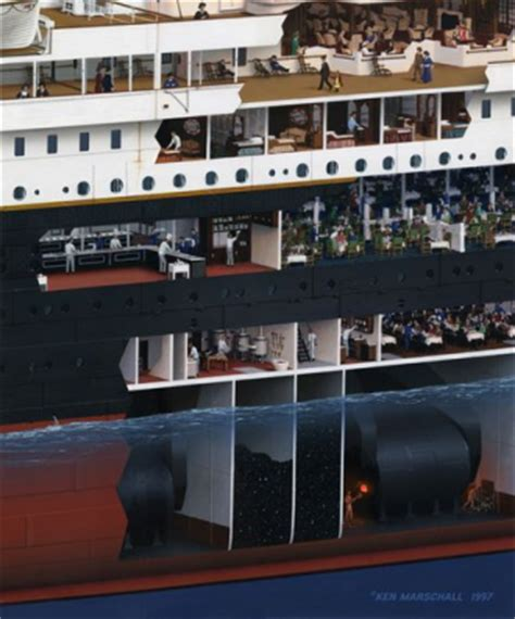 titanic deck plans discovery channel awakenings titanic day 2 journey underway