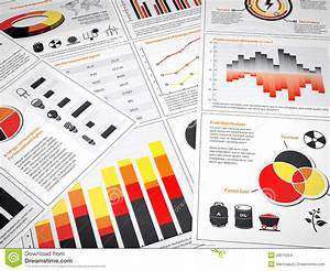 Energy Graphs And Charts Stock Illustration  Illustration