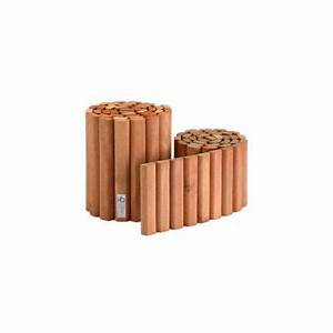 Barrière Bois Castorama : bordure en bois l 180 x h 30 cm castorama ~ Premium-room.com Idées de Décoration