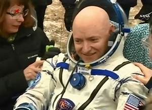 Scott Kelly is taller than he was before his time in space
