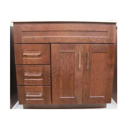 jamestown lava cherry vanity closeout builders surplus