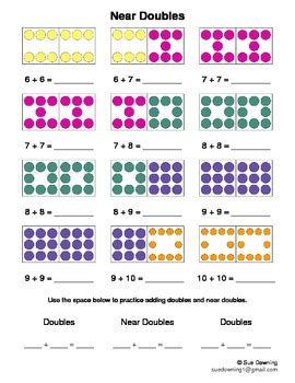 doubles  dominoes  susan downing teachers