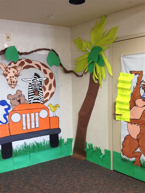 jungle theme classroom decor kiddos pinterest jungle