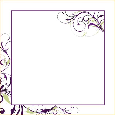 invitations to print free wedding invitation templates word document free yaseen for