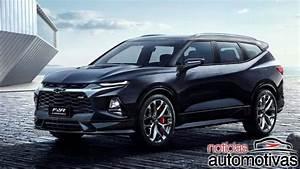 Chevrolet Blazer XL 2020 surge na China com sete lugares