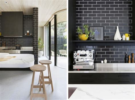 kitchen tiles black the difference grout color can make to your tiles emily 3313