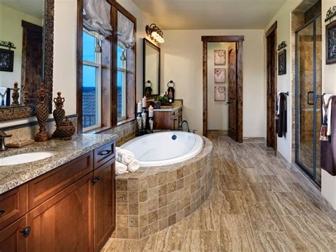 rustic bathtub tile surround photos hgtv