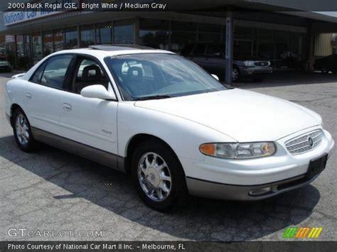 Buick Regal Gse by Bright White 2000 Buick Regal Gse Medium Gray Interior