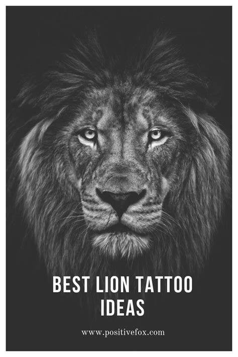 Lion Tattoo Meaning – Lion Tattoo Ideas for Men and Women with Photos | Lion tattoo meaning