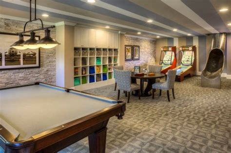 10 Cool Family Basement Designs