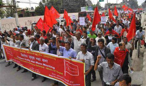 madhesis call strike india resumes fuel supply to