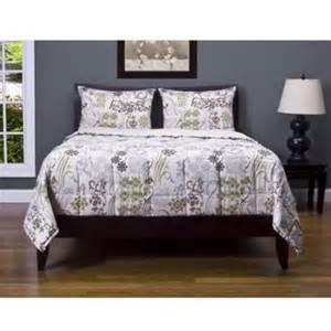 ornamental 3 piece comforter set queen walmart com