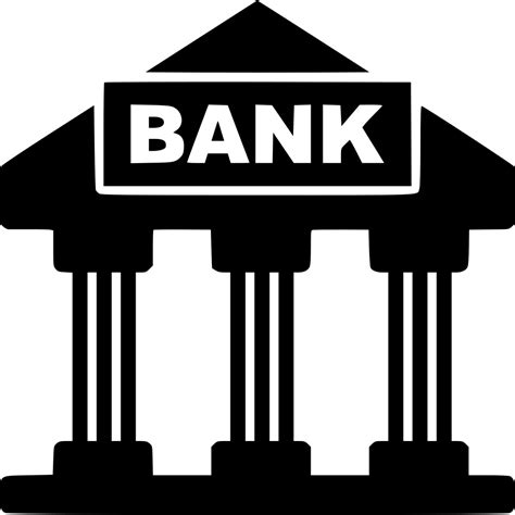 Bank Icon Bank Svg Png Icon Free Download 456573 Onlinewebfonts Com