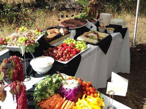 Outdoor Buffet - The Simple Chef Catering