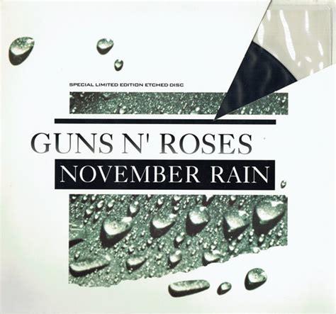 November Rain (vinyl) At Discogs