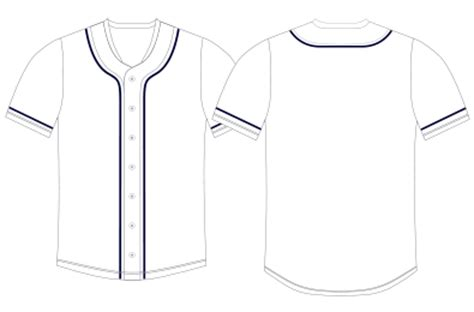 Baseball Jersey Template Images - Template Design Ideas