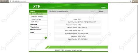 Cara mengganti password zte f609. 3 Cara Mengganti Password WiFi IndiHome ZTE & Huawei