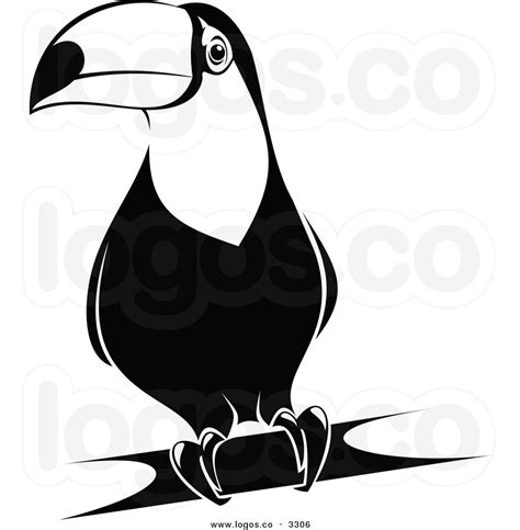 toucan clipart black and white toucan clipart black and white