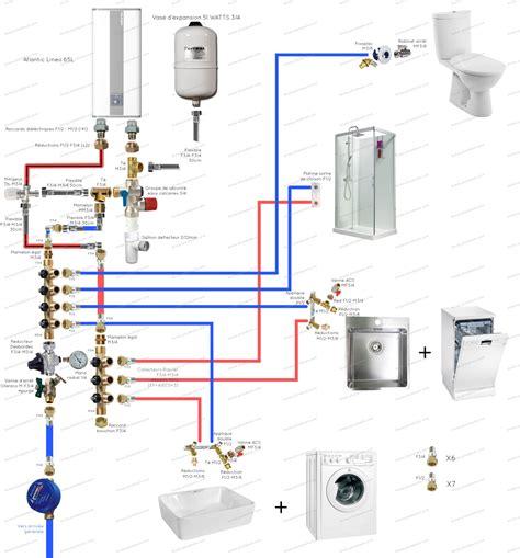 dtu salle de bain plan de plomberie d une maison maison moderne