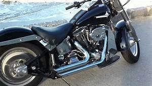 Harley Fat Boy 1340 Pots Vance U0026hines Shortshots Staggered