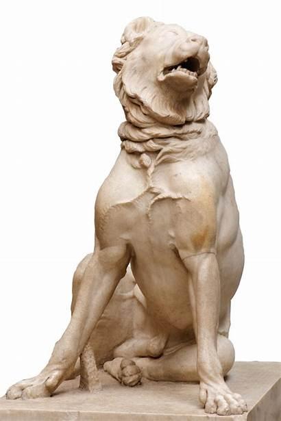 Molosser Dog Moment Ancient Statue Jennings Rome
